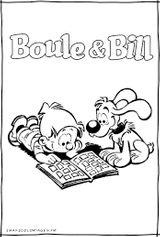 Imprimer le coloriage : Boule et Bill, numéro 88532