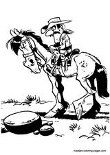 Imprimer le coloriage : Lucky Luke, numéro 13211