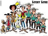 Imprimer le dessin en couleurs : Lucky Luke, numéro 13243