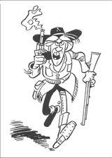 Imprimer le coloriage : Lucky Luke, numéro 142529