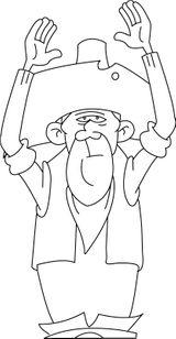 Imprimer le dessin en couleurs : Lucky Luke, numéro 60002