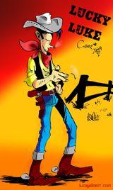 Imprimer le dessin en couleurs : Lucky Luke, numéro 692814