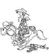 Imprimer le coloriage : Lucky Luke, numéro 8930