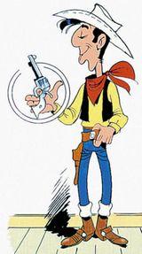 Imprimer le dessin en couleurs : Lucky Luke, numéro 9755