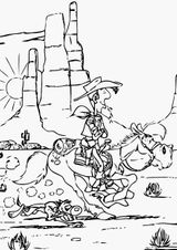 Imprimer le coloriage : Lucky Luke, numéro f92cd074