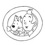 Imprimer le coloriage : Tintin, numéro 13256