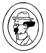 Imprimer le coloriage : Tintin, numéro 18073