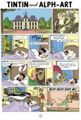 Imprimer le coloriage : Tintin, numéro 27522