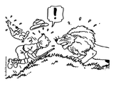 Imprimer le coloriage : Tintin, numéro 2ba84fe2
