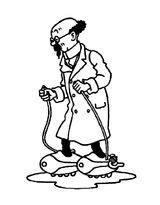 Imprimer le coloriage : Tintin, numéro 32bd87e9