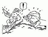 Imprimer le coloriage : Tintin, numéro 43ab0174