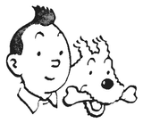 Imprimer le coloriage : Tintin, numéro 55757