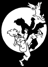 Imprimer le coloriage : Tintin, numéro 673101