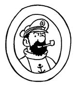 Imprimer le coloriage : Tintin, numéro 86063