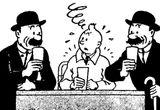 Imprimer le coloriage : Tintin, numéro 8945
