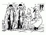 Imprimer le coloriage : Tintin, numéro 8bb25d5a