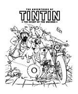 Imprimer le coloriage : Tintin, numéro 984bfa70