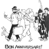 Imprimer le coloriage : Tintin, numéro a7227e5c