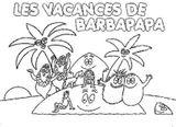 Imprimer le coloriage : Barbapapa numéro 859