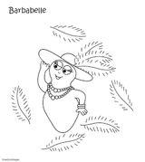 Imprimer le coloriage : Barbapapa, numéro 942cdc68