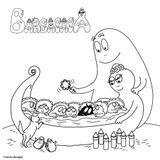 Imprimer le coloriage : Barbapapa, numéro f2252f76