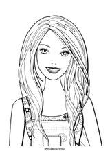 Imprimer le coloriage : Barbie, numéro 175699