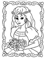 Imprimer le coloriage : Barbie, numéro 18137