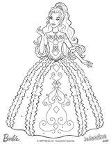 Imprimer le coloriage : Barbie, numéro 21725