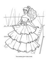Imprimer le coloriage : Barbie, numéro 244225