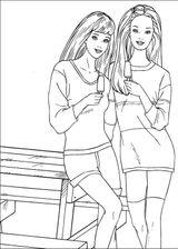 Imprimer le coloriage : Barbie, numéro 24684