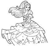Imprimer le coloriage : Barbie, numéro 25b6cf89