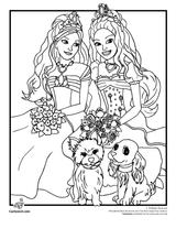 Imprimer le coloriage : Barbie, numéro 374856