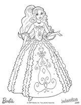 Imprimer le coloriage : Barbie, numéro 3af65f2d