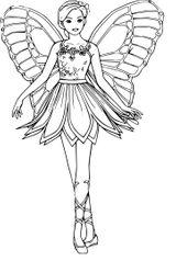 Imprimer le coloriage : Barbie, numéro 5593c87d