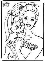 Imprimer le coloriage : Barbie, numéro 672636