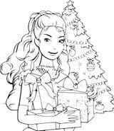 Imprimer le coloriage : Barbie, numéro 6b6b7757