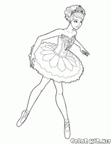 Imprimer le coloriage : Barbie, numéro 9473e574