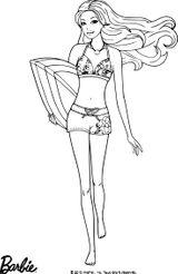 Imprimer le coloriage : Barbie, numéro c0d16d34