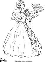 Imprimer le coloriage : Barbie, numéro c6d60558