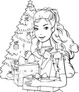 Imprimer le coloriage : Barbie, numéro cdfd38dd