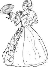 Imprimer le coloriage : Barbie, numéro dfe66dd3