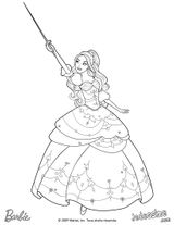 Imprimer le coloriage : Barbie, numéro dfed2c27