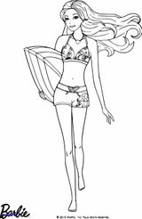 Imprimer le coloriage : Barbie, numéro e4f5231b
