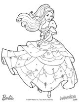 Imprimer le coloriage : Barbie, numéro ea7fb13f