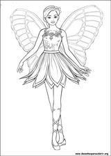 Imprimer le coloriage : Barbie, numéro f60eb77c