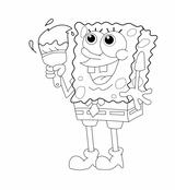 Imprimer le coloriage : Bob l'éponge, numéro 1079