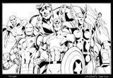Imprimer le coloriage : Avengers, numéro 2e6ff52f