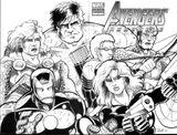 Imprimer le coloriage : Avengers, numéro 398331