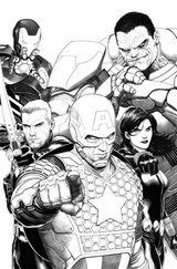 Imprimer le coloriage : Avengers, numéro 398341