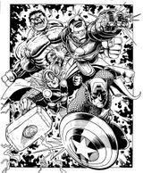 Imprimer le coloriage : Avengers, numéro 398353